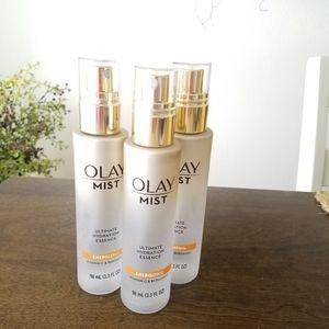 Three Olay Energizing Ultimate Hydration Mists